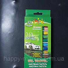 Крейда масл..постіль (12 кольорів) Kidis Sport Car 7823