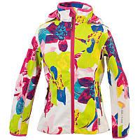 Куртка softshell для девочки 6, 10, 12 лет, размеры 116, 140, 152 JANET ТМ HUPPA 18000000-81420
