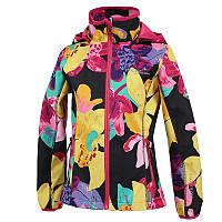 Куртка softshell для девочки 7-9, 11 лет, размеры 122, 128, 146 JANET ТМ HUPPA 18000000-81418