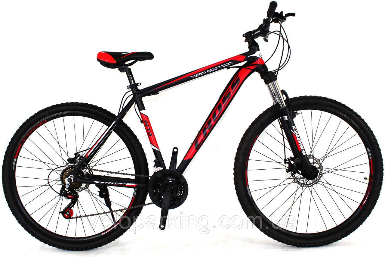 Горный алюминиевый велосипед Cross Hunter 26 (2018) new