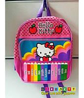 Рюкзак школьный, средний, Hello Kitty