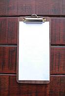 """Расчетница меню планшет из дерева """"Огайо"""" с прижимом"""