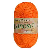 Детская пряжа Lanoso BABY COTTON 903
