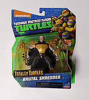 Черепашка Ниндзя ОРИГИНАЛ Totally Turtles Brutal Shreder Шредер 90737 Китай