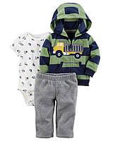 Детский костюм из 3-х вещей Carters для мальчика, 72,83 см (9М,18М)