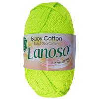 Детская пряжа Lanoso BABY COTTON 911