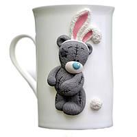 Кружка в подарок на день рождения Сувенирная кружка с рисунком Mug Teddy Bear