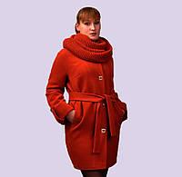 Женское кашемировое пальто. Модель 21-А. Размеры 46-54