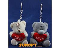 "Мягкая игрушка Брелок Тедди ""LOVE"" (6,5 см) №71002"