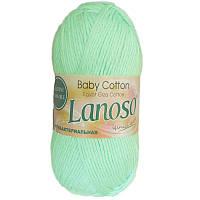 Детская пряжа Lanoso BABY COTTON 919