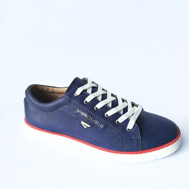 Кеды carlo pachini, обувь мужская повседневная, синего цвета