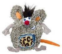 Trixie TX-34836 крыса  игрушка с пищалкой для собак 17см