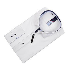 Белая рубашка KS 1722-1 разм. M, фото 2