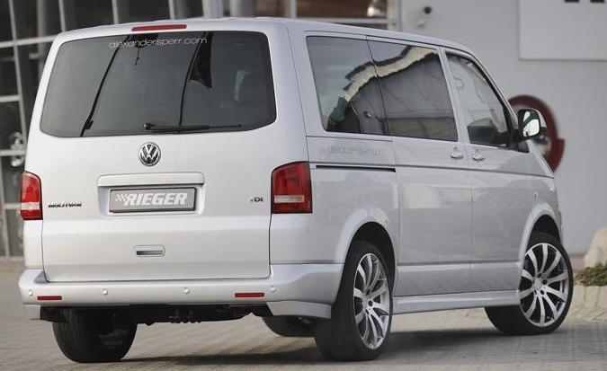 Заднее стекло (ляда) с э.о. на Volkswagen Transporter Т-5
