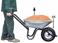 Подвоз и насыпание грунта тачками