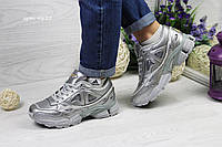 Кроссовки Adidas Raf Simons - серебро