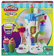 "Набор Плей До ""Фабрика мороженого""  Play-Doh Perfect Twist Ice Cream Playset Оригинал"