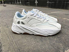 Женские кроссовки Adidas Yeezy 700 Boost White Gum, фото 2