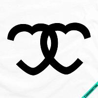 Термопечать на шарфы Chanel [7 размеров в ассортименте] (Тип материала Матовый)