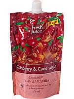 """""""Fresh Juice"""" Гель для душа дой-пак Cranberry&Cane sugar 170мл"""