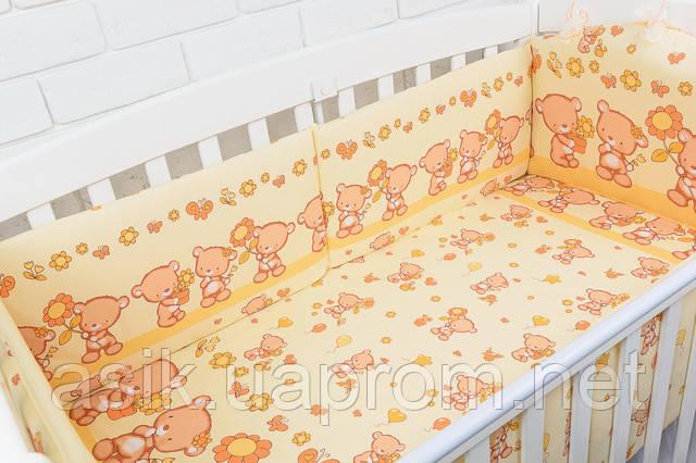 Простынь в кроватку 120 60 см