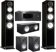 Портативная акустика Домашний кинотеатр Monitor Audio Silver + Cambridge Pack