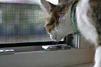 Москитная сетка Анвис белая, противомоскитная сетка, антимоскитная сетка на окно