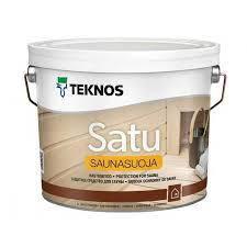 Защитное средство для сауны TEKNOS satu saunasuoja 2.7 л. безцветный