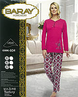 "Домашний костюм ""Baray Homewear"",3XL,4XL,5XL батал"