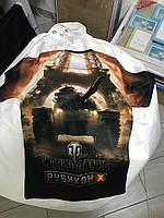 Полноцветная печать на футболках, фото 1