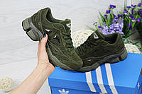 Кроссовки Adidas Raf Simons - ХАКИ, фото 1