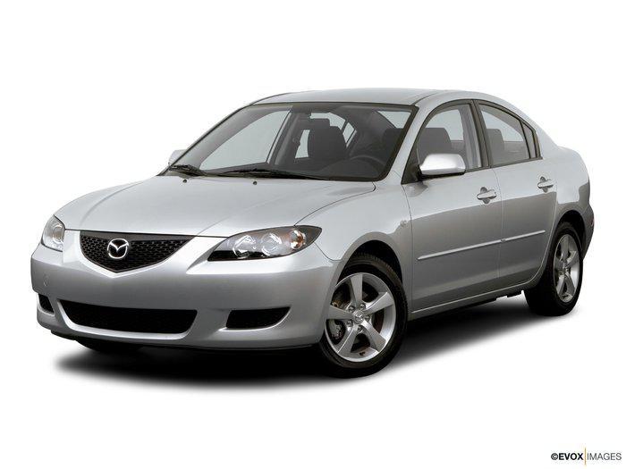 Лобовое стекло Mazda 3 с молдингом (2003-2010)