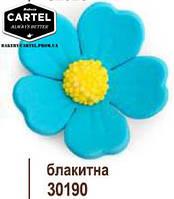 """Квітка """"Полісянка"""" Блакитна  (8шт.)"""