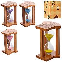 Деревянная игрушка Песочные часы MD 1117