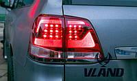 Задние led фонари Toyota Land Cruiser 200 2008-2015 г.в.