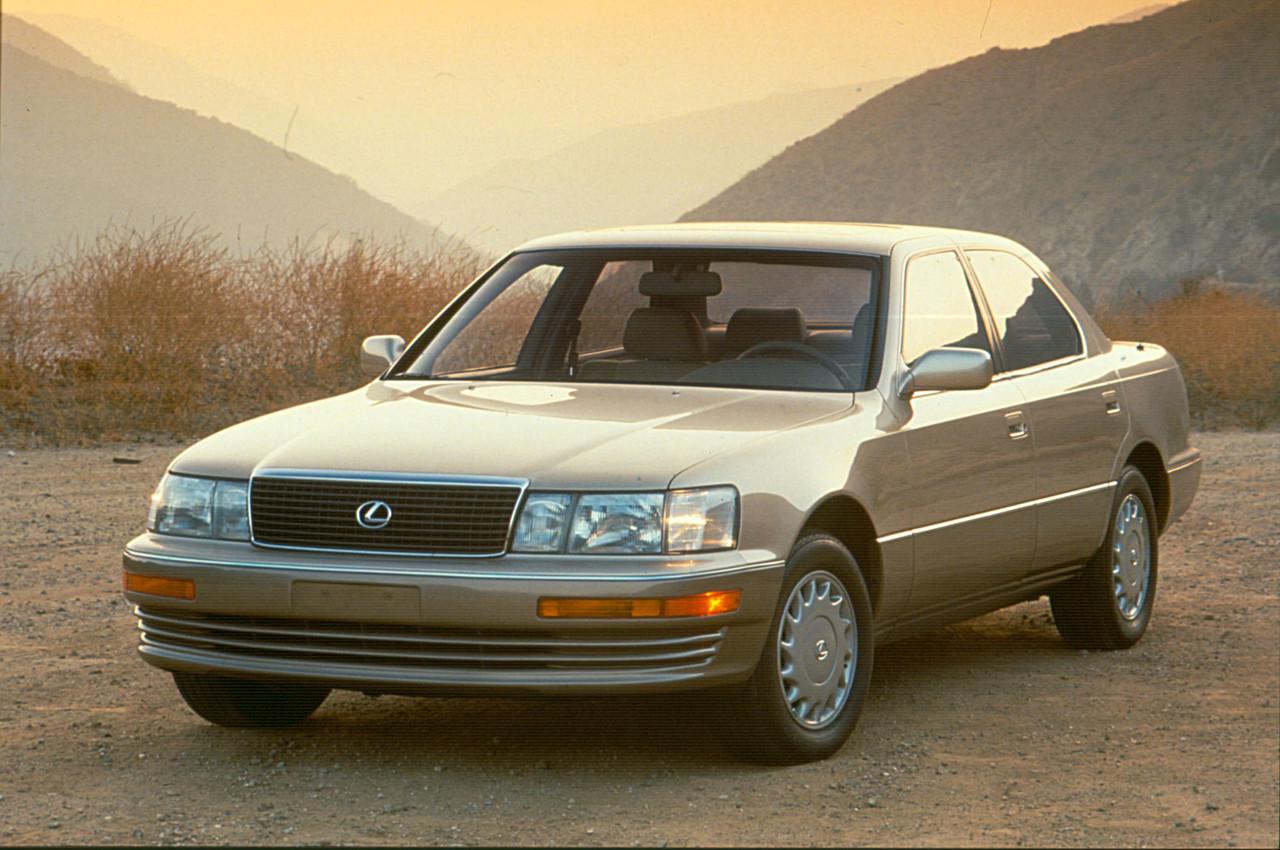 Лобовое стекло Lexus LS 400 (1994-2000)