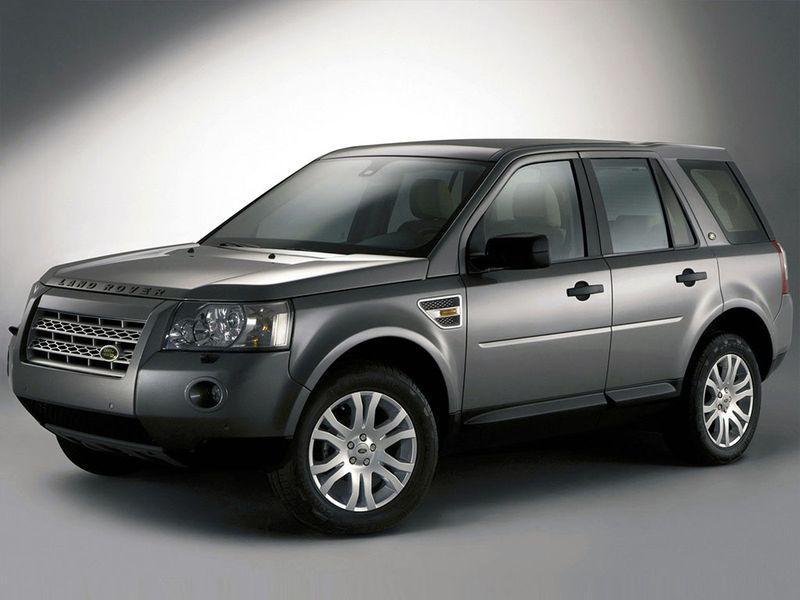 Лобовое стекло Land Rover Freelander с местом под датчик (2007-)