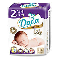 Памперси Dada Premium 2 (3-6 кг) - 64 шт.