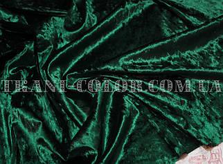 Тканина оксамит-мармур стрейчевий пляшка