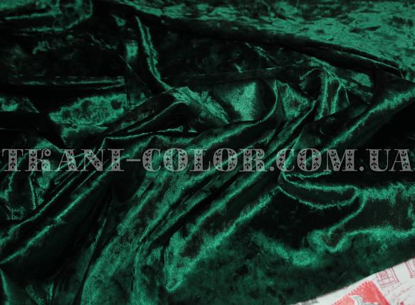Ткань бархат-мрамор стрейчевый бутылка, фото 2