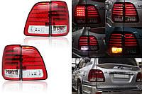 Задние led фонари Toyota Land Cruiser 100 2000-2007 г.в.