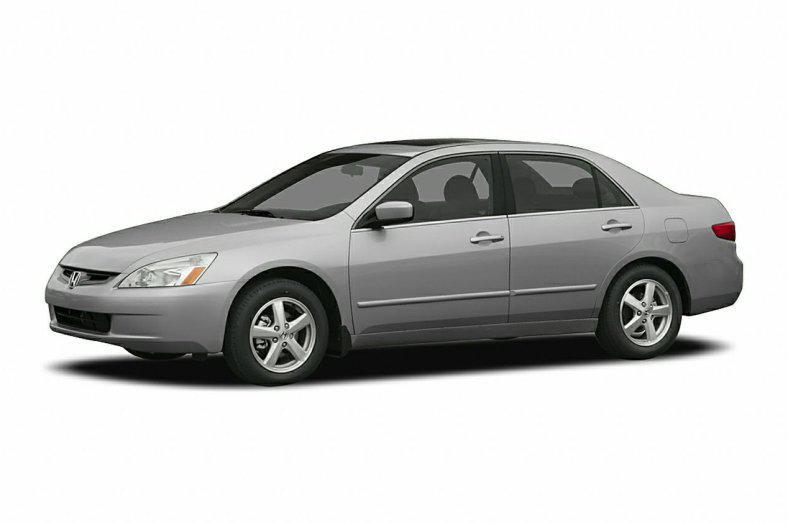 Лобовое стекло Honda Accord с молдингом (2003-2008)