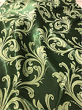Шторы блекаут 2.8м зелёный 202, фото 3