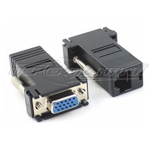Подовжувач VGA (F/F) по витій парі до 30 м