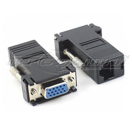 Подовжувач VGA (F/F) по витій парі до 30 м, фото 2