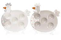 """Тарелка для яиц, блюдо, корзинка для яиц """"Курочка"""" 21.7*21*2.7см"""