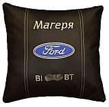 Сувенирная подушка в машину с логотипом Ford форд, фото 2