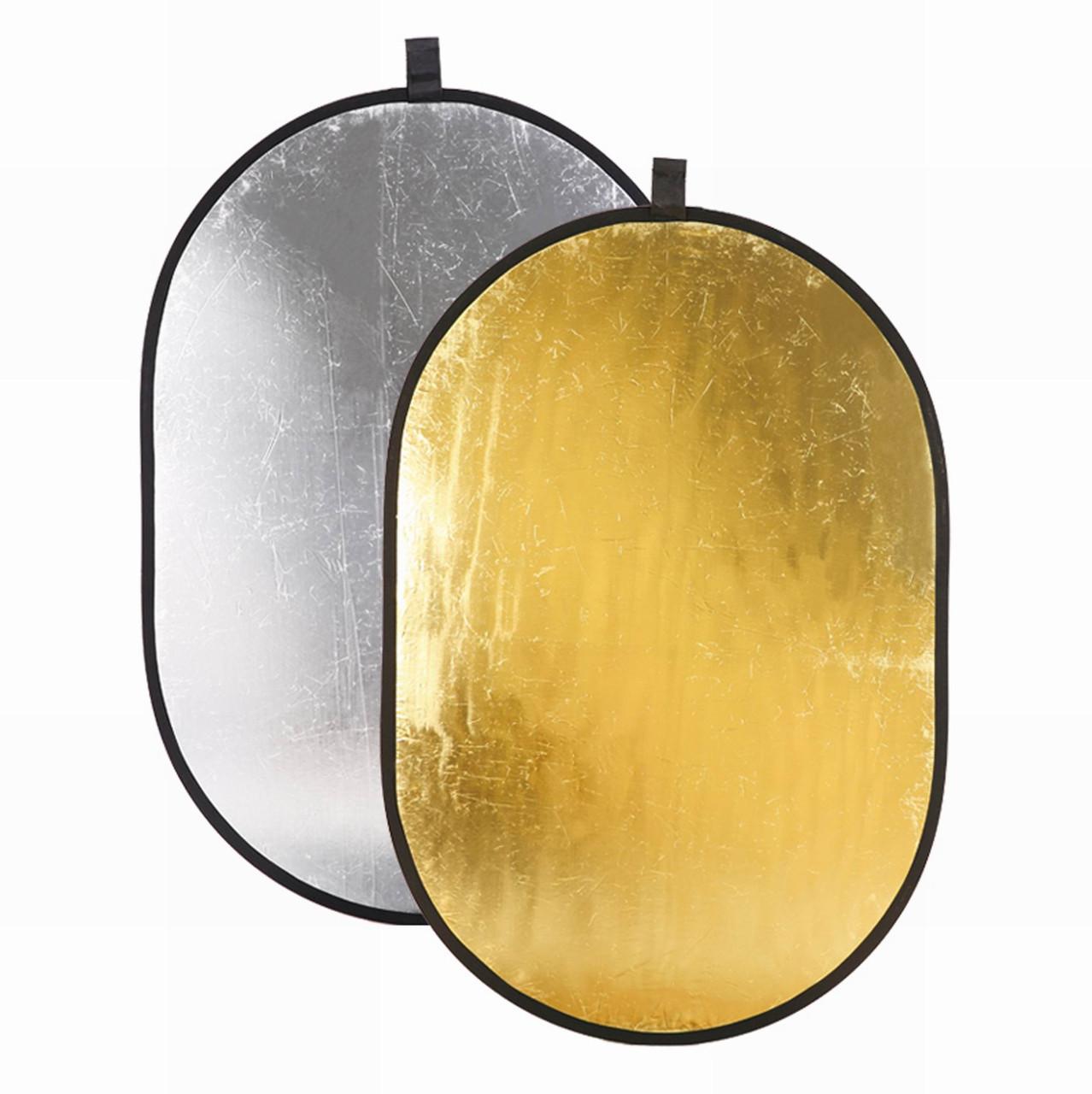 Отражатели света Золотой/Серебряный 2 в 1 120 x 180 см