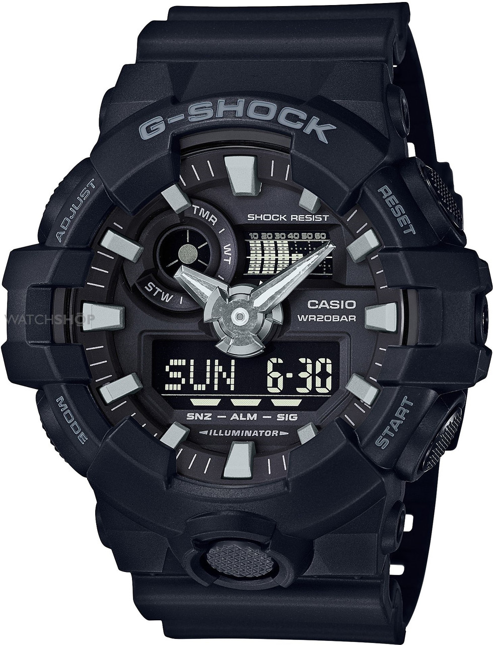 Часы Casio G-Shock GA-700-1B В.