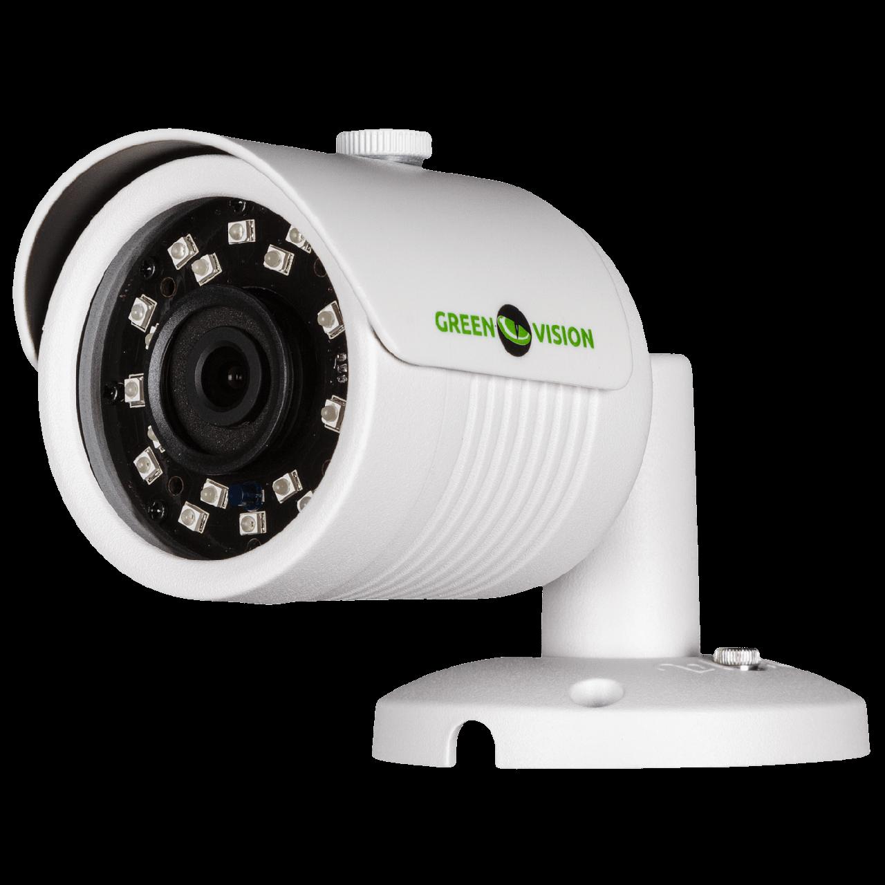 2.1 Мп Гибридная камера GreenVision GV-024-GHD-E-COO21-20 1080p (3.6 мм)